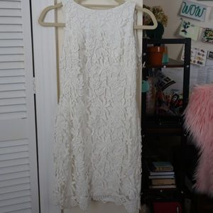 Lauren Ralph Lauren White Lace Dress